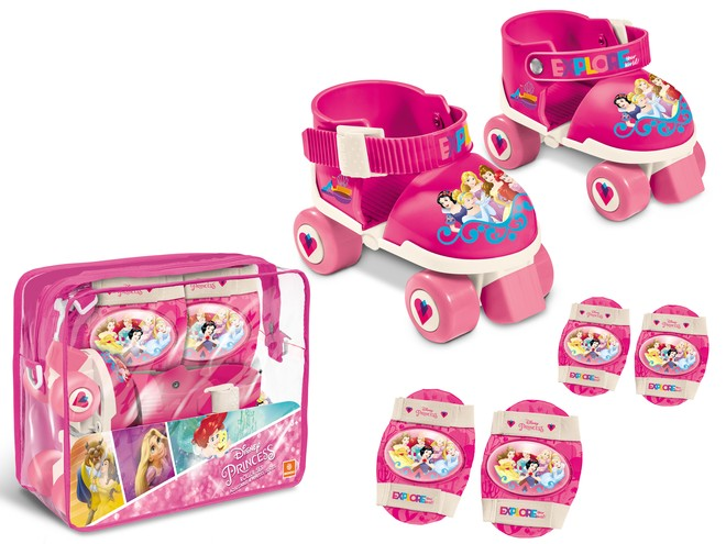 18488 - PRINCESS ROLLER SKATES SET