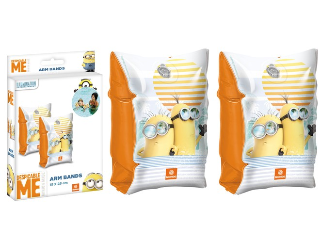 16481 - MINION MADE ARM BANDS