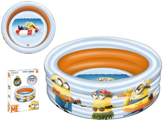 16484 - MINION MADE 3 RINGS POOL