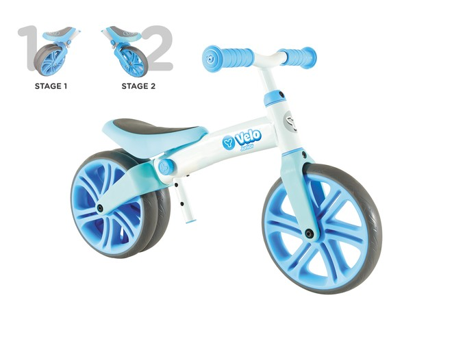 25225 - Y VELO JUNIOR BALANCE BIKE BLUE