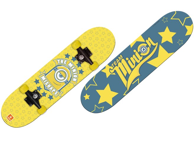 28196 - MINION MADE SKATEBOARD