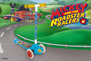 Mickey and the roadster racers coming on Disney Junior!