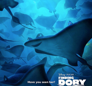 Finding Dory in 3d blue-ray!