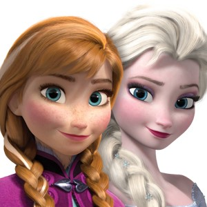 Elsa and Anna are waiting for the new Disney princess!