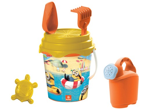 MINIONS WILL DECORATE OUR BUCKET RANGE!